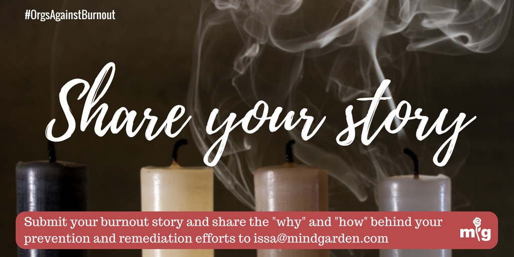 Share your burnout story